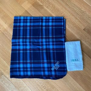 IHSA horse show blanket and towel bundle
